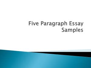 Requirements for expository essay